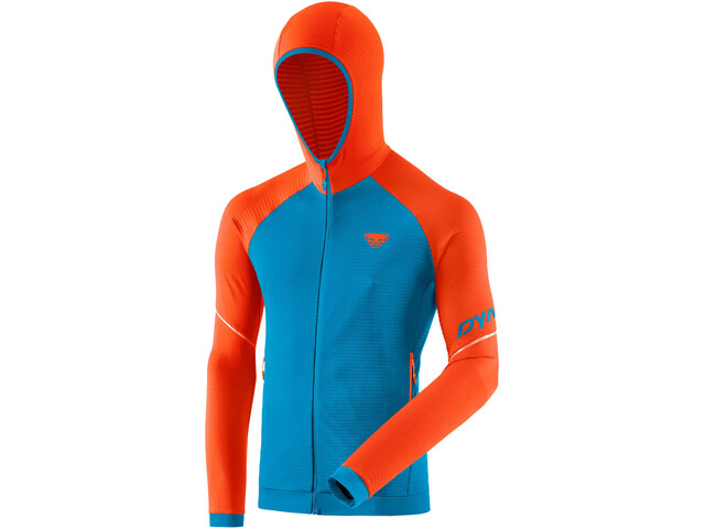Dynafit Speed Thermal Chaqueta Capucha Hombre, naranja/azul